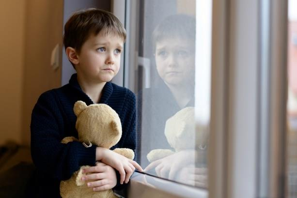 Boy With Teddy Picture