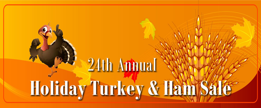 Holiday Turkey and Ham Sale